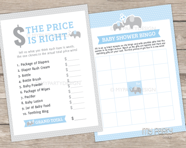 elephant boy baby shower printable baby shower games my party design