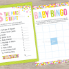 baby sprinkle baby shower games