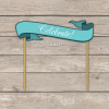 printable personalized cake topper