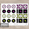 printable music party cupcake toppers