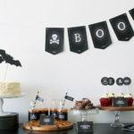 Black & White Halloween Party