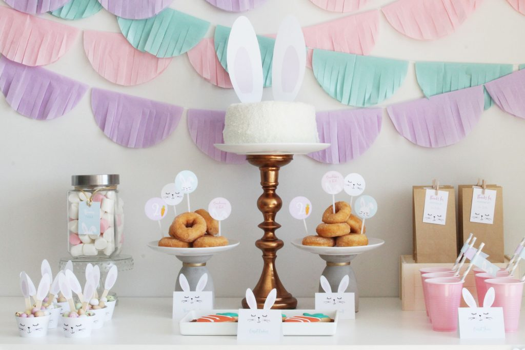 Little Bunny Party Table