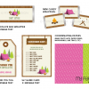 camping party decoration printables for a girl camping party