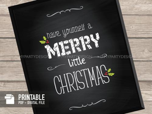 printable christmas print