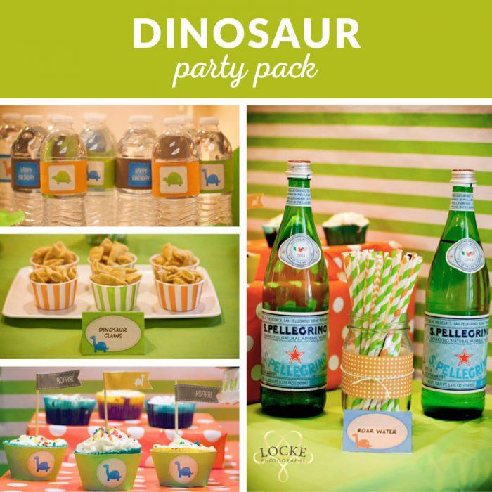 dinosaur party decoration printables