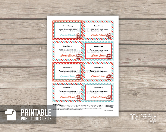 printable elf notes