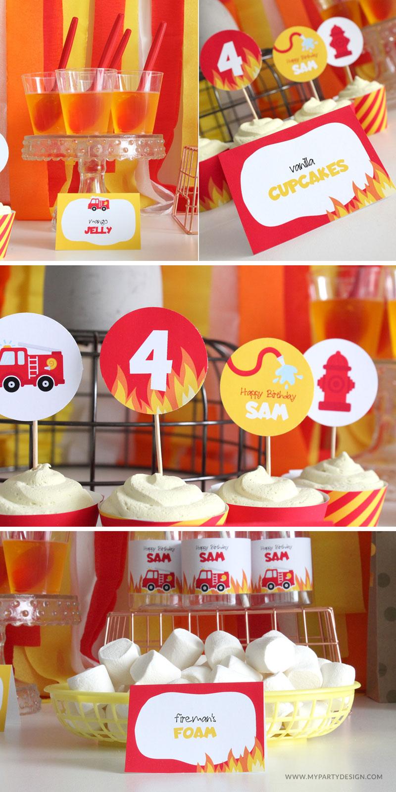 Firetruck Party Food Ideas