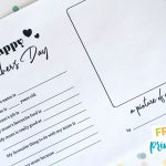 FREE Printable Mother's Day Quiz