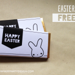 FREE Printable Easter Chocolate Wrappers