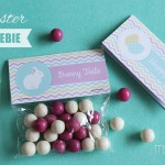 FREE Easter Printable Bag Toppers