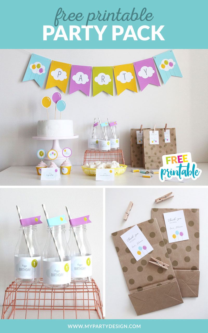 free birthday printables for your party