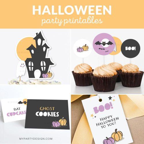 halloween party decoration printables