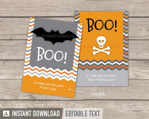 printable halloween cards