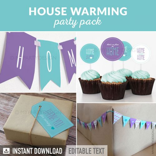 house warming party decoration printables