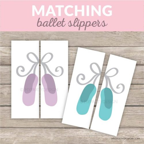 ballerina color matching game