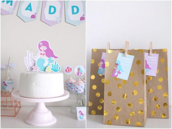 mermaid birthday party ideas