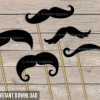 printable mustache photobooth props