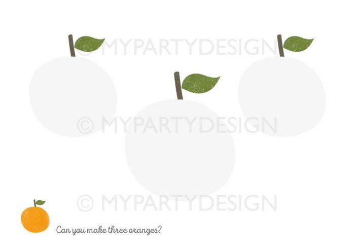 printable fruit playdough mats