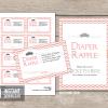 printable little princess baby shower diaper raffle