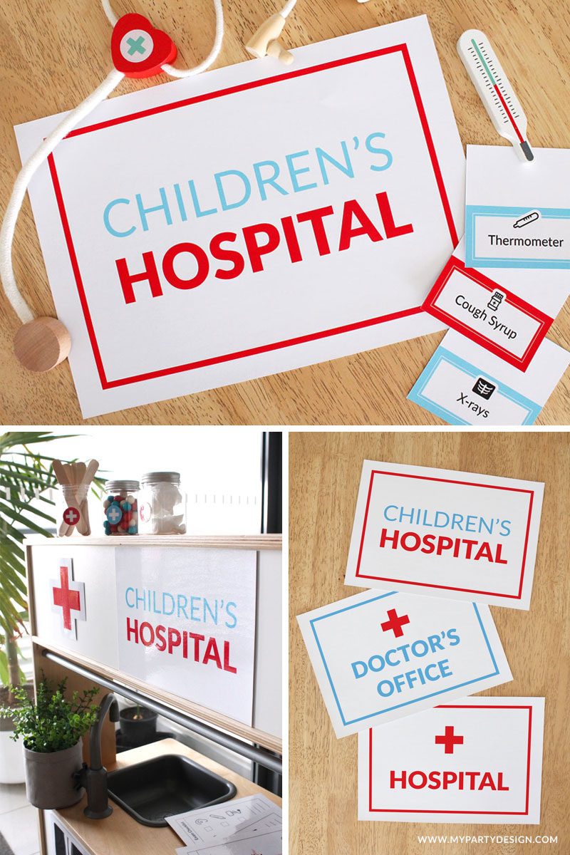 Doctor Pretend Play Area For Imaginative Play My Party Design