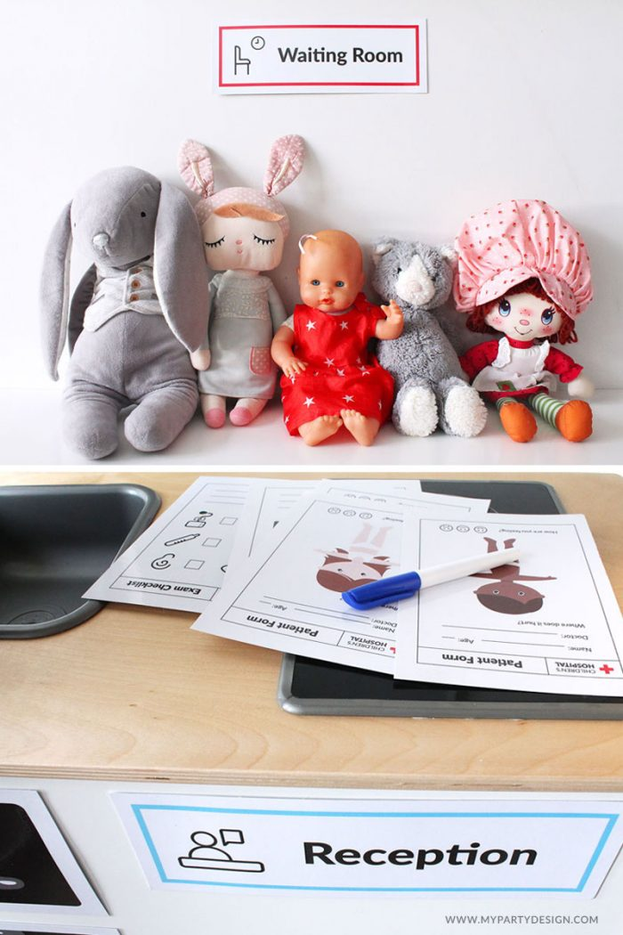 Doctor Dramatic Play Set - Printables for Imaginative play