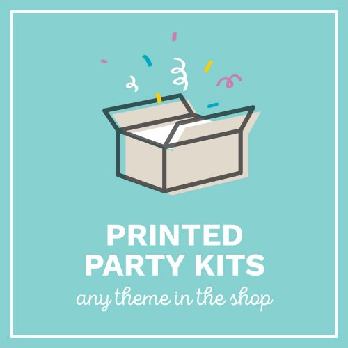 Party Kits in Australia, professionally printed and delivered to you