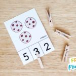 FREE Printable Cookie Counting Cards