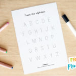 FREE Name and Alphabet Tracing Mat