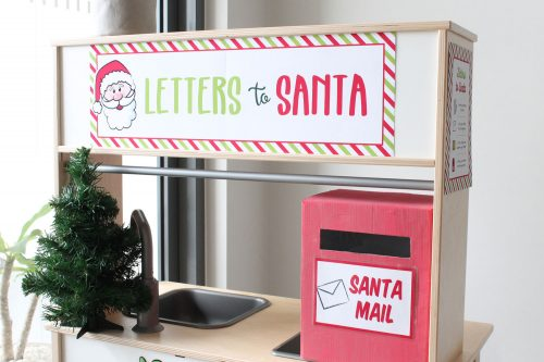 christmas letter to santa dramatic play printables