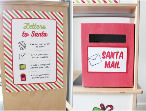 Letters to Santa – Play set