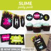 slime party decorations printables