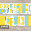 printable you are my sunshine birthday party decorations