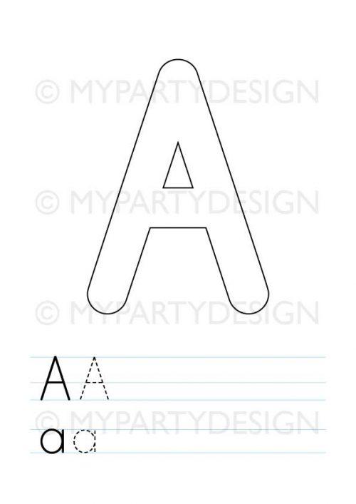 printable alphabet playdough mats