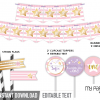 pink twinkle twinkle first birthday party decor