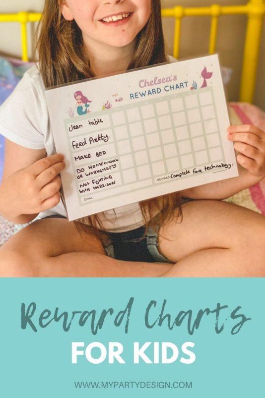 reward charts for kids