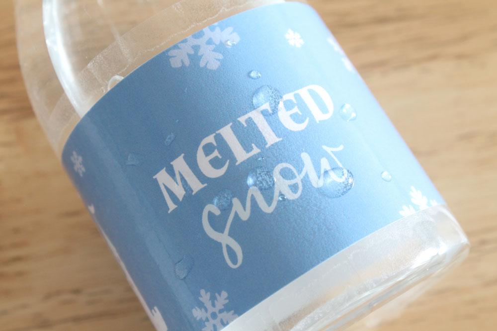 waterproof bottle label